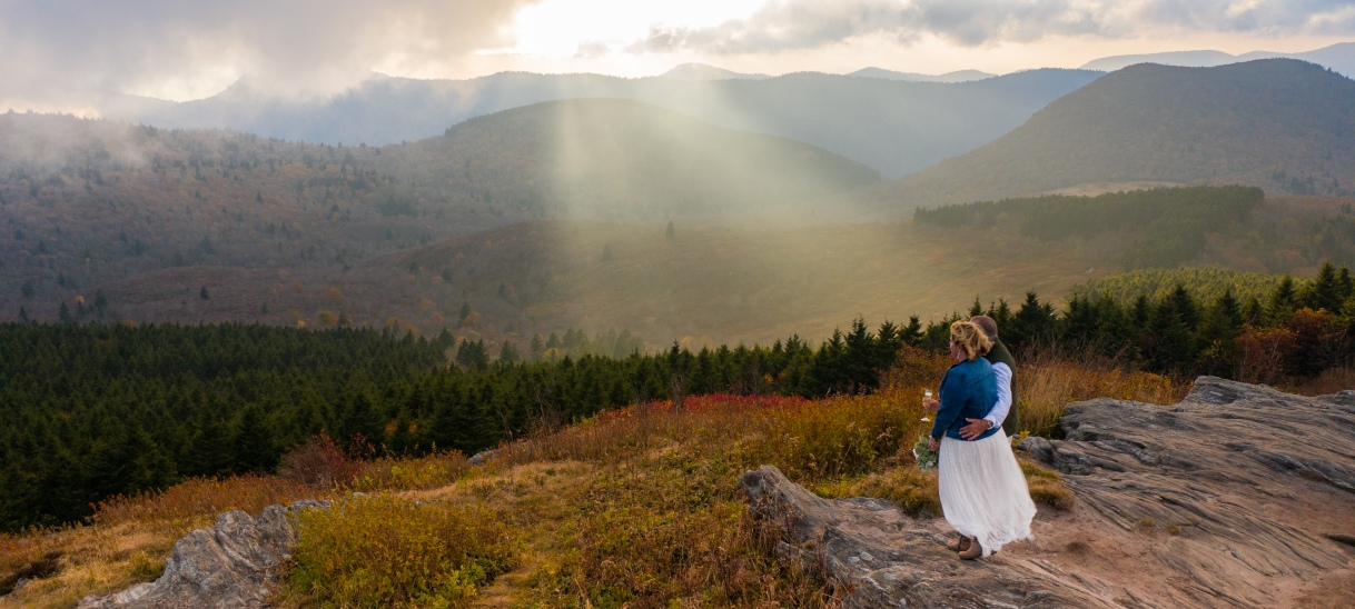 Mountaintop Wedded Bliss